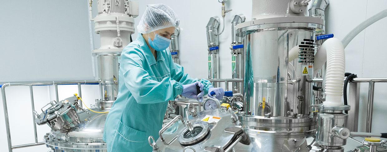 Chemie- und Lebensmittelindustrie