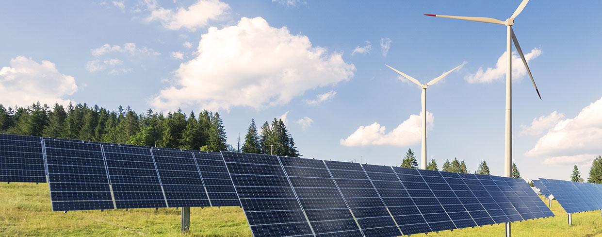 Energieversorger und Kraftwerke