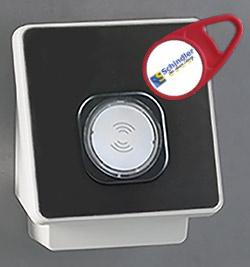 Zutrittsterminal mit RFID Responder